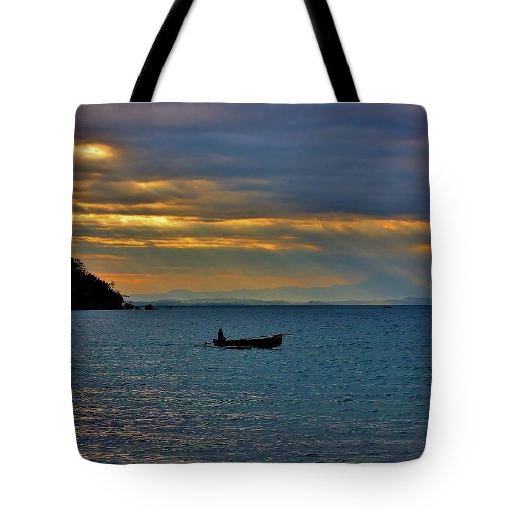 Madagascar Tote Bag featuring the photograph The Early Bird by Stacie Gary