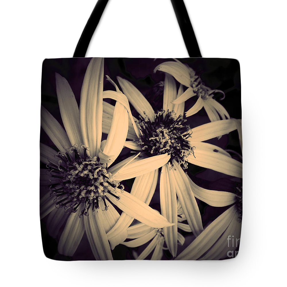 Flowers Tote Bag featuring the photograph The Embrace by Tara Turner