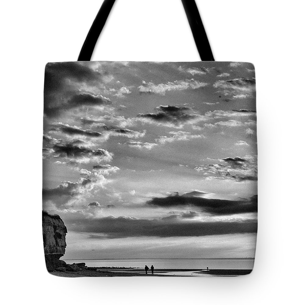 Natureonly Tote Bag featuring the photograph The End Of The Day, Old Hunstanton by John Edwards