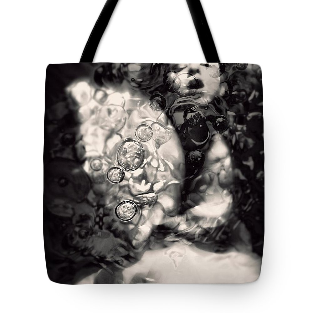 Tote Bag featuring the photograph The Erotic Molecule by Jessica Shelton
