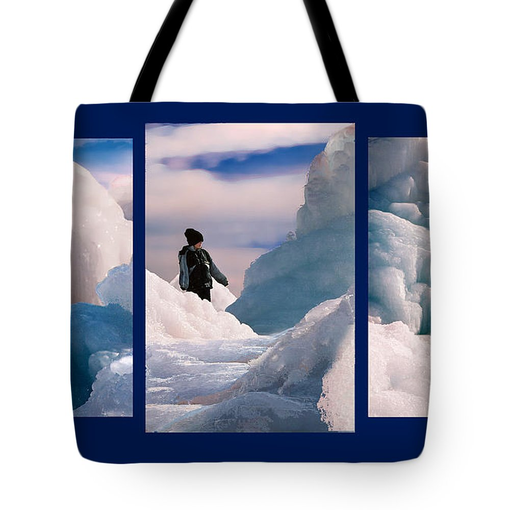 Landscape Tote Bag featuring the photograph The Explorers by Steve Karol