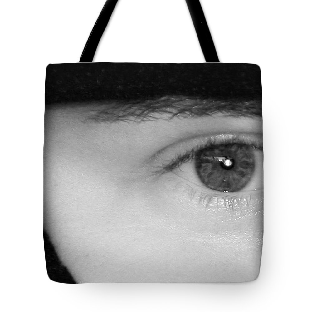 Eyes Tote Bag featuring the photograph The Eyes Have It by Christine Till
