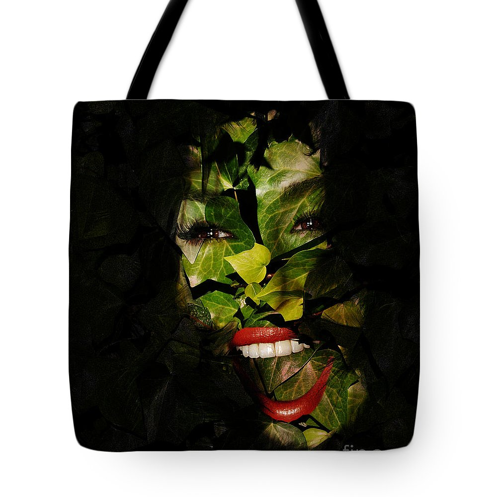 Clay Tote Bag featuring the photograph The Eyes Of Ivy by Clayton Bruster