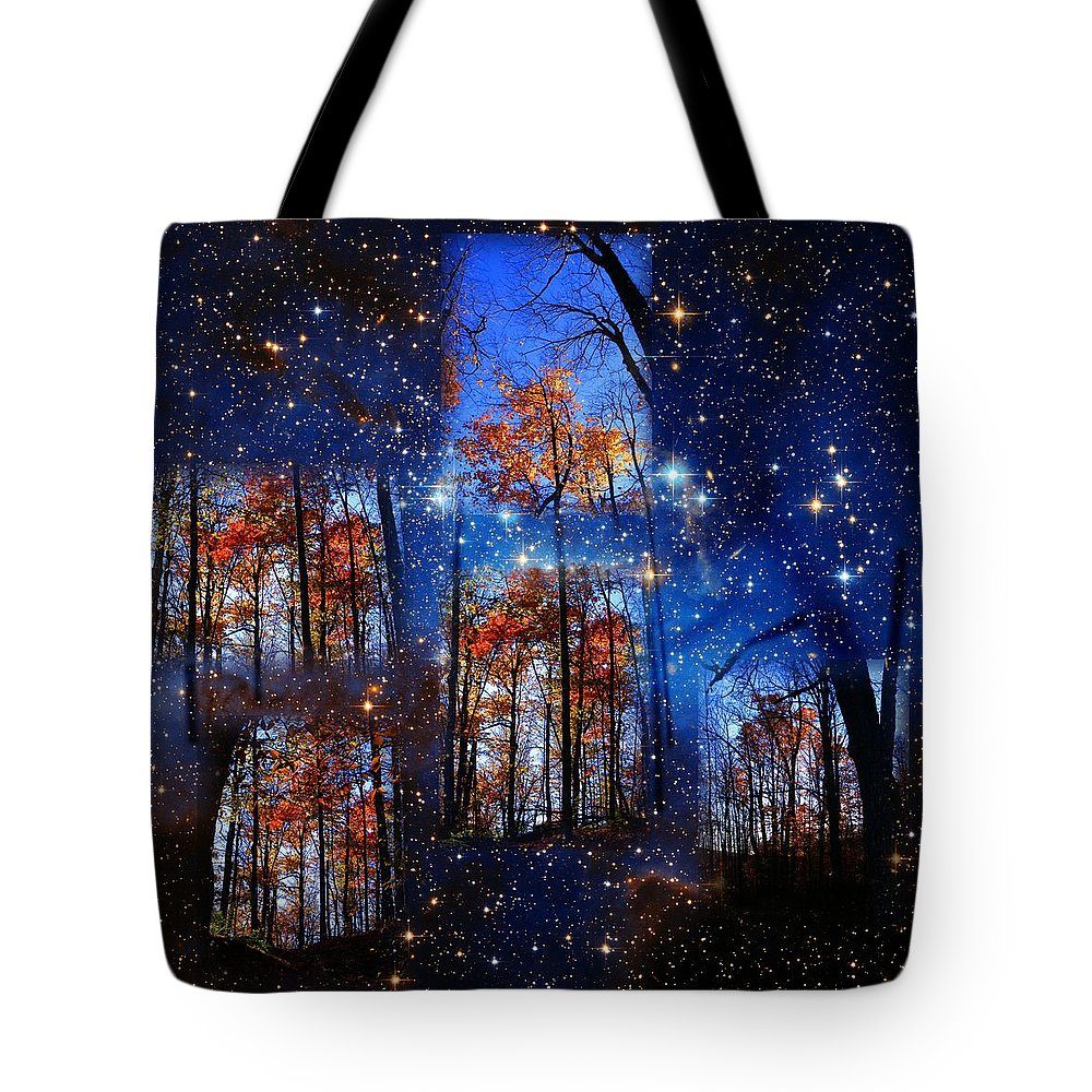 Deep Space Tote Bag featuring the photograph The Face Of Forever by Dave Martsolf