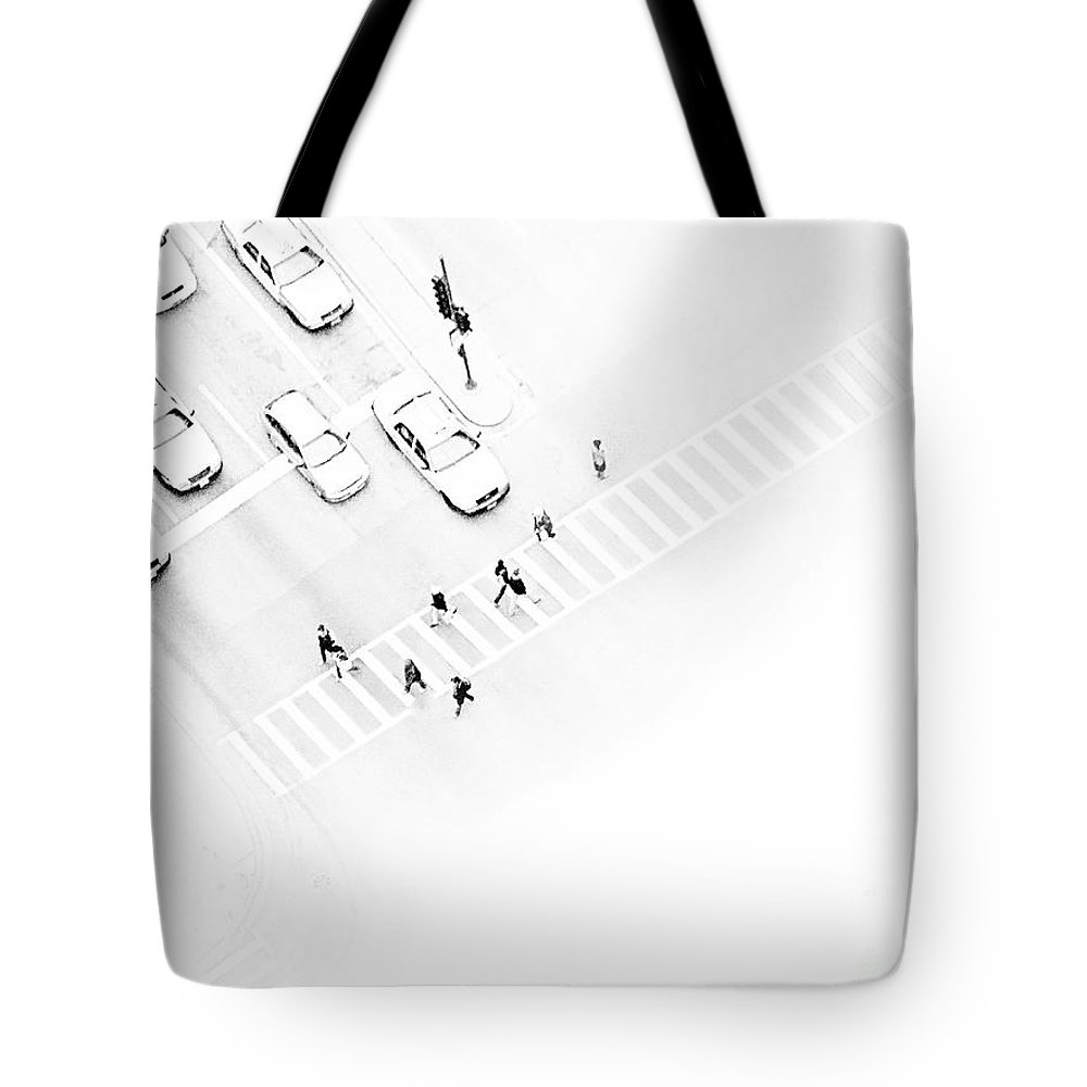 White Tote Bag featuring the photograph The Faceless by Dana DiPasquale