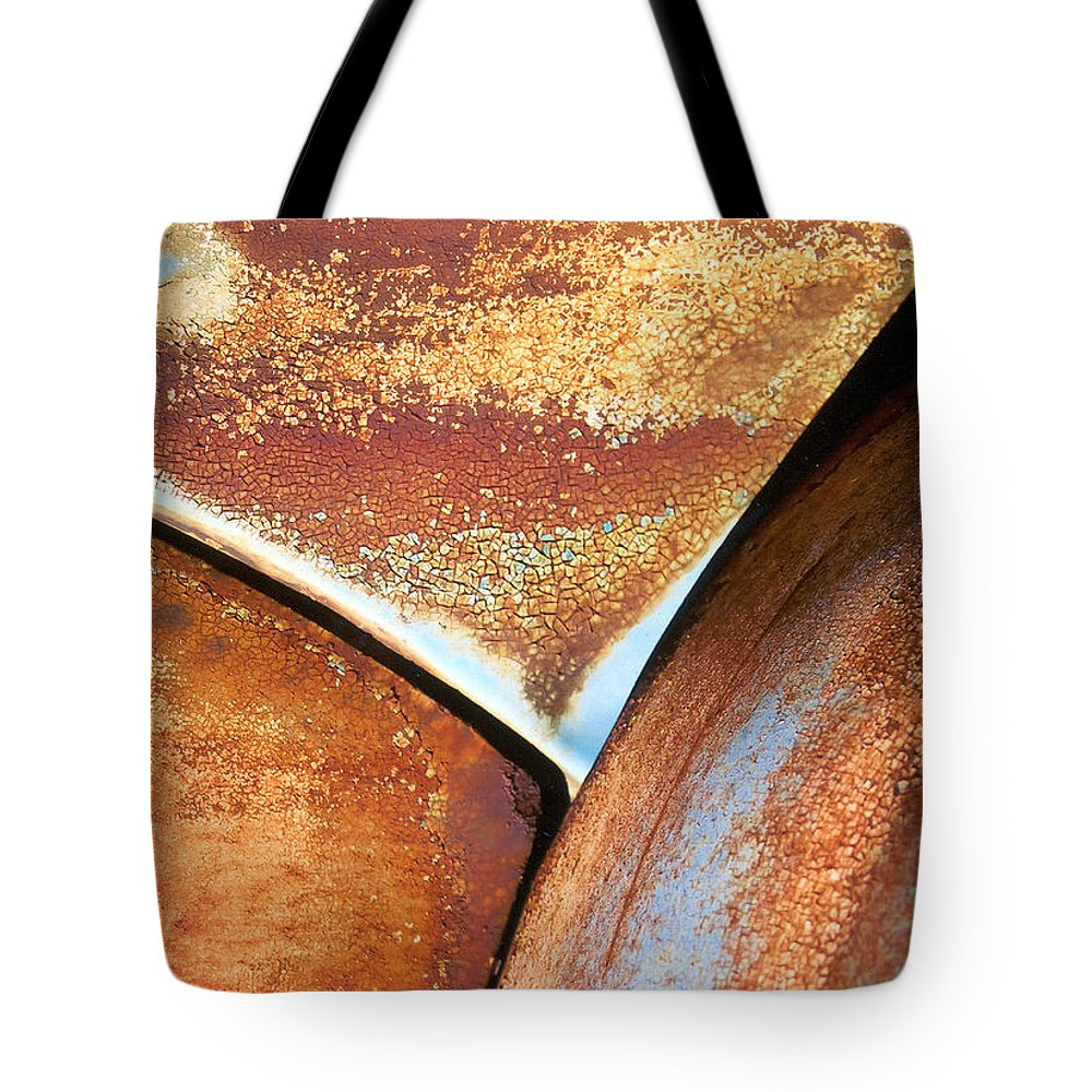 Abstract Tote Bag featuring the photograph The Feminine Mystique by Steve Karol
