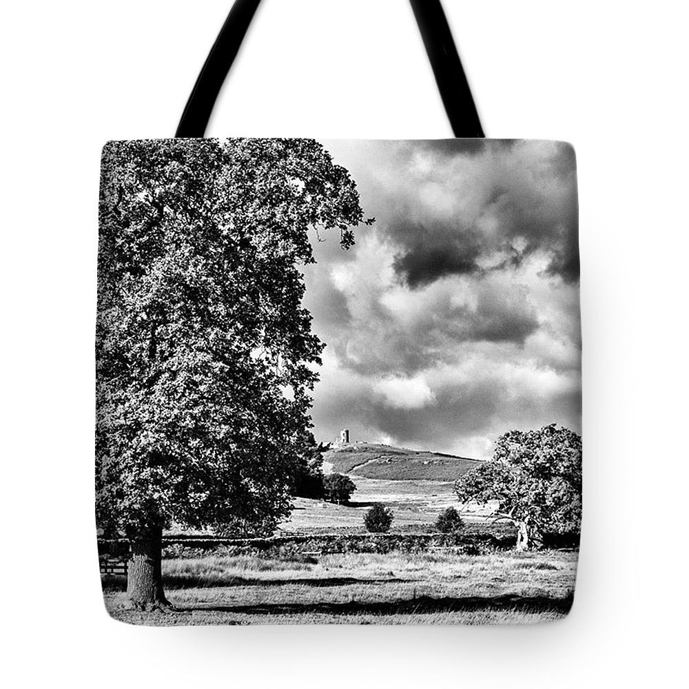 Parkland Tote Bag featuring the photograph Old John Bradgate Park by John Edwards
