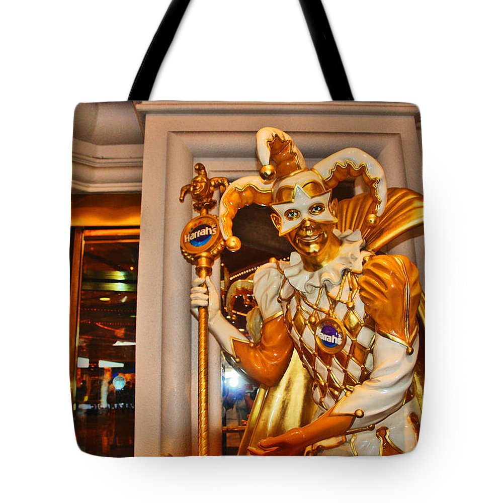 Photography Tote Bag featuring the photograph The Fool by Susanne Van Hulst