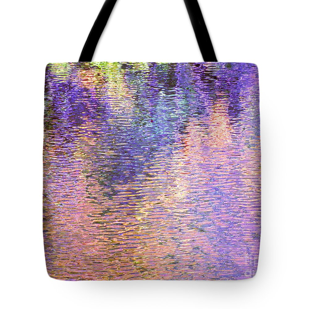 Abstract Tote Bag featuring the photograph The Full Experience by Sybil Staples