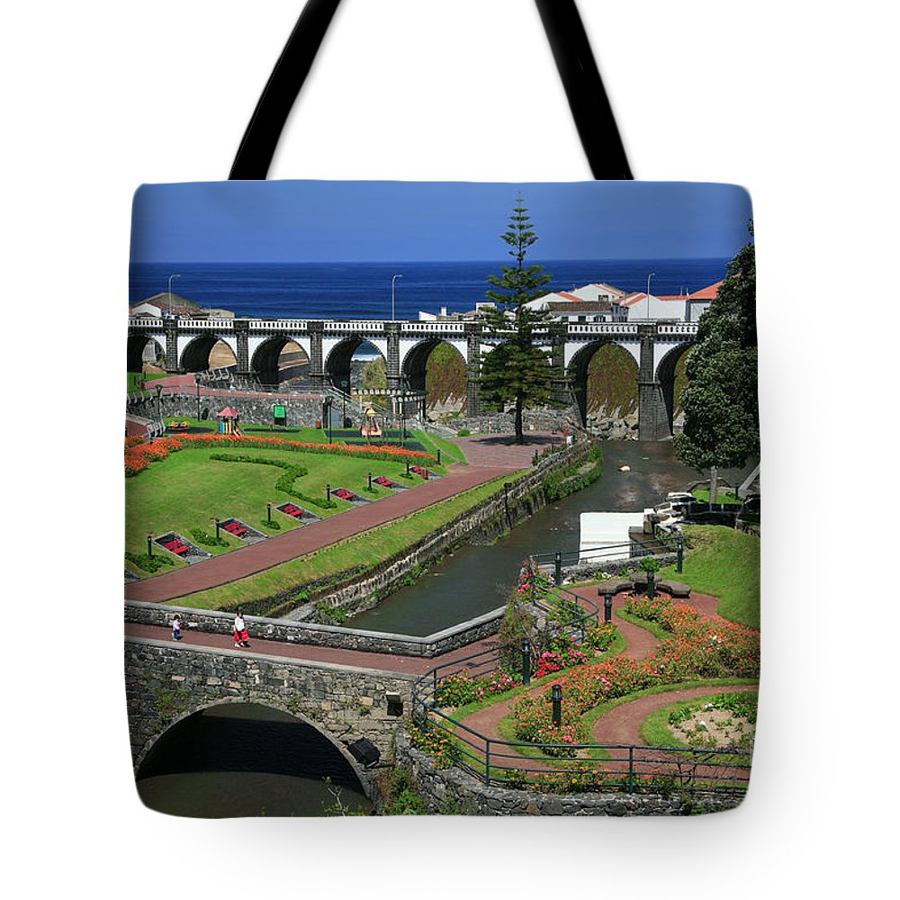 Park Tote Bag featuring the photograph The Gardens Of Ribeira Grande by Gaspar Avila