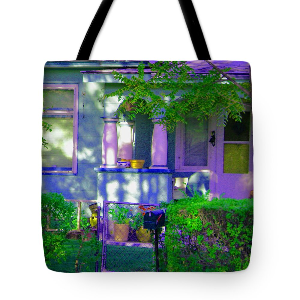Tree Tote Bag featuring the photograph The Gate To The Kingdom by Lenore Senior