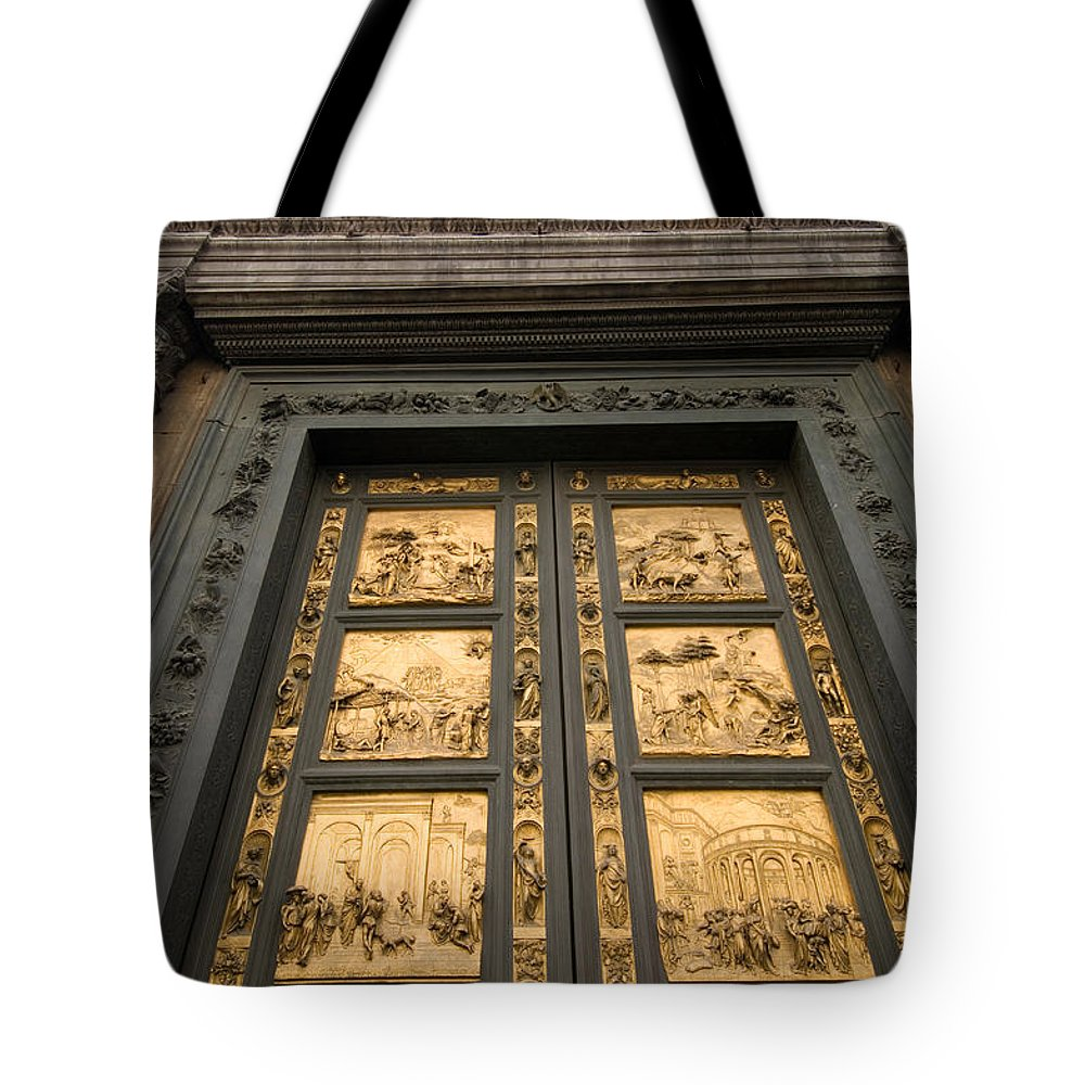 Photography Tote Bag featuring the photograph The Gates Of Paradise Doors by Joel Sartore
