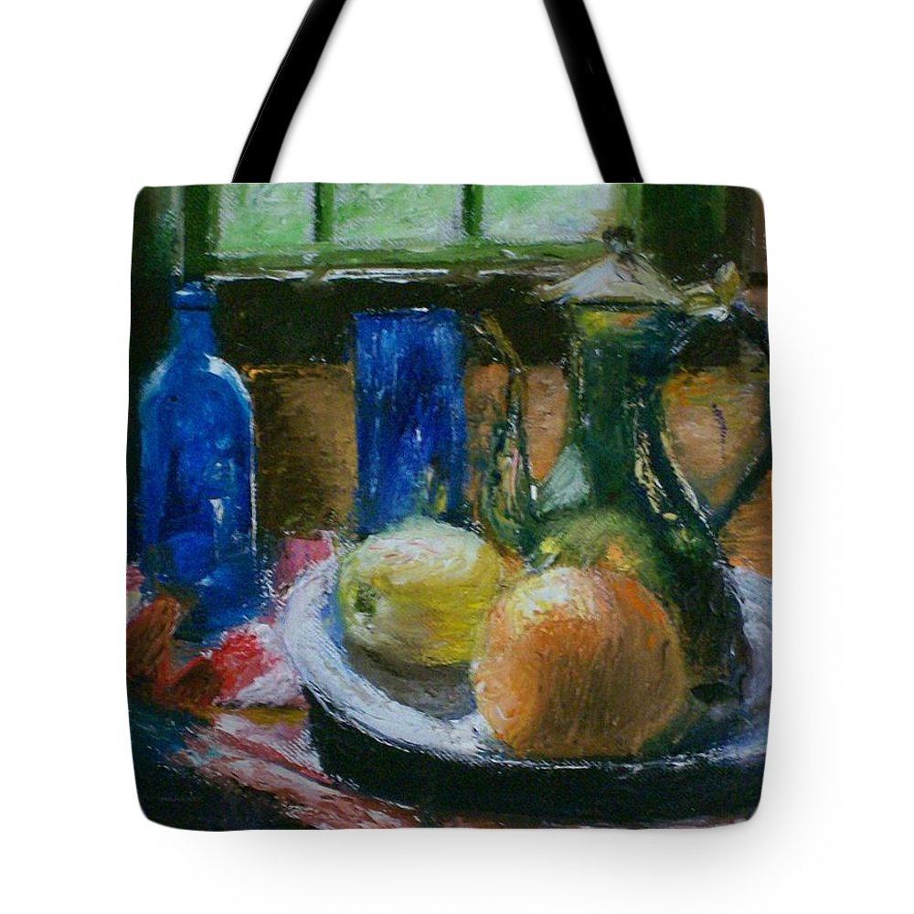 Origianl Tote Bag featuring the painting The Gathering by Stephen King