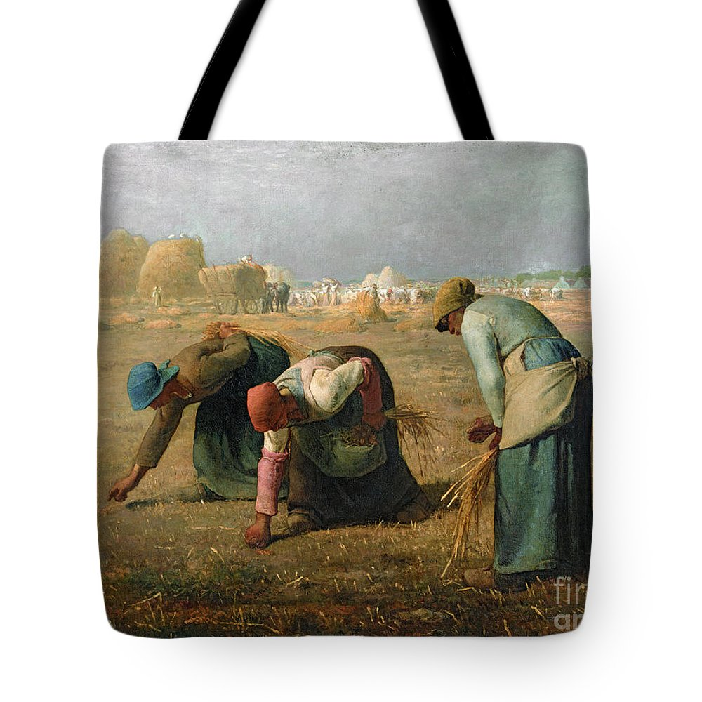 The Tote Bag featuring the painting The Gleaners by Jean Francois Millet