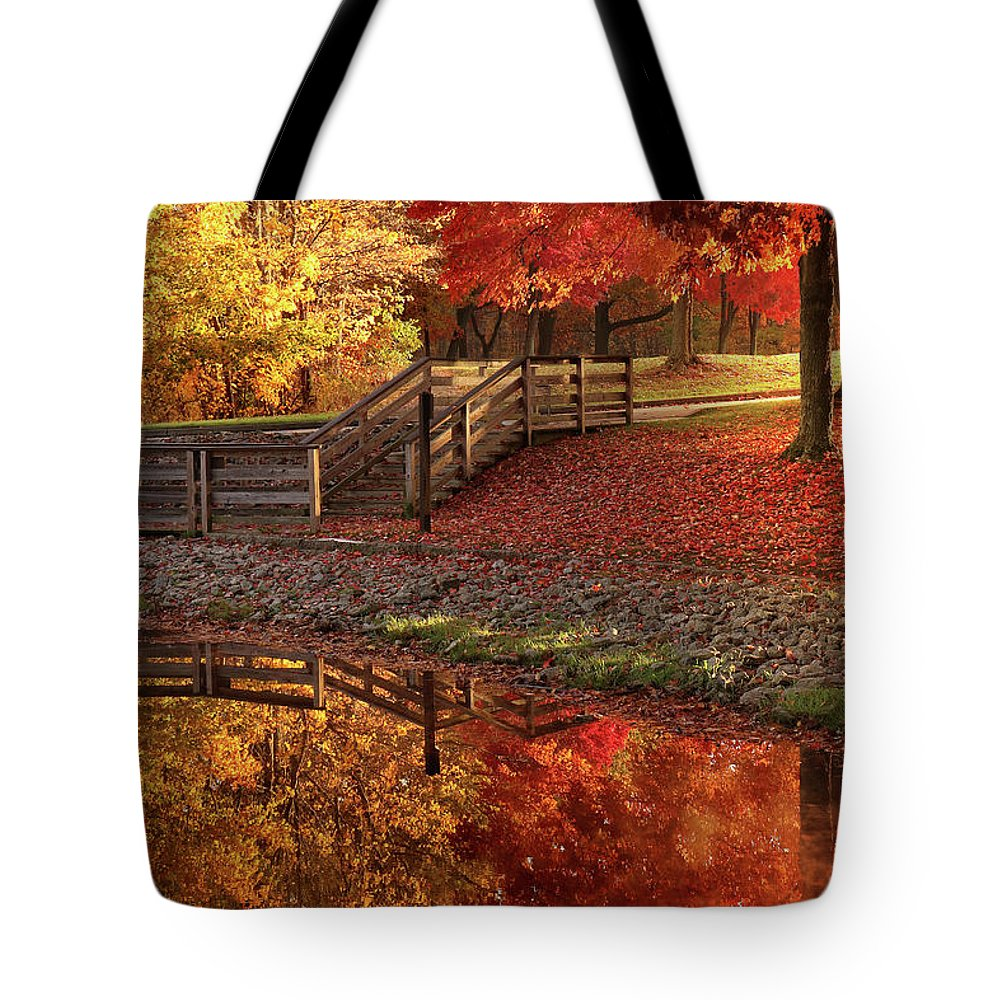Tote Bag featuring the photograph The Glory Of Autumn by Rob Blair