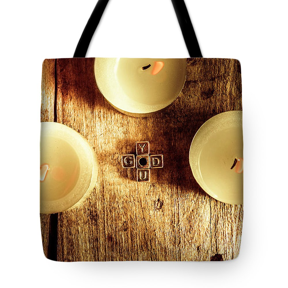 Spiritual Tote Bag featuring the photograph The God Complex by Jorgo Photography - Wall Art Gallery