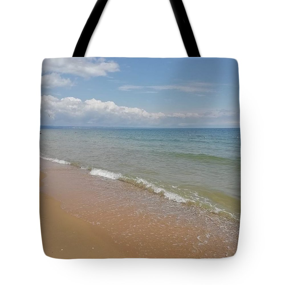 Tote Bag featuring the photograph The Golden Sands, Bulgaria by Daniela Buciu