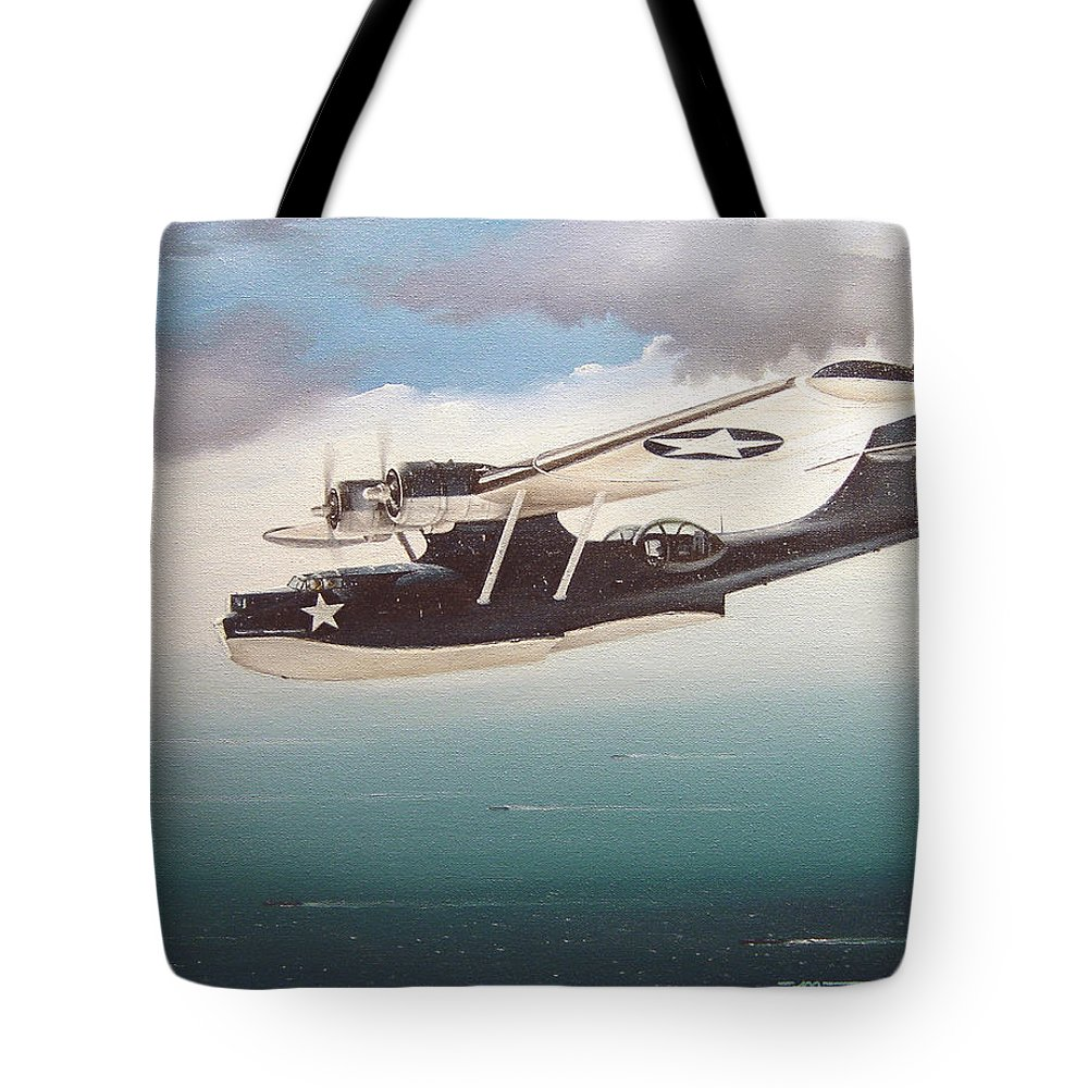 Painting Tote Bag featuring the painting The Good Shepherd by Marc Stewart