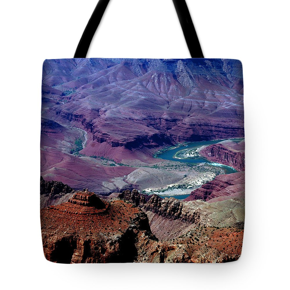 Photography Tote Bag featuring the photograph The Grand Canyon by Susanne Van Hulst