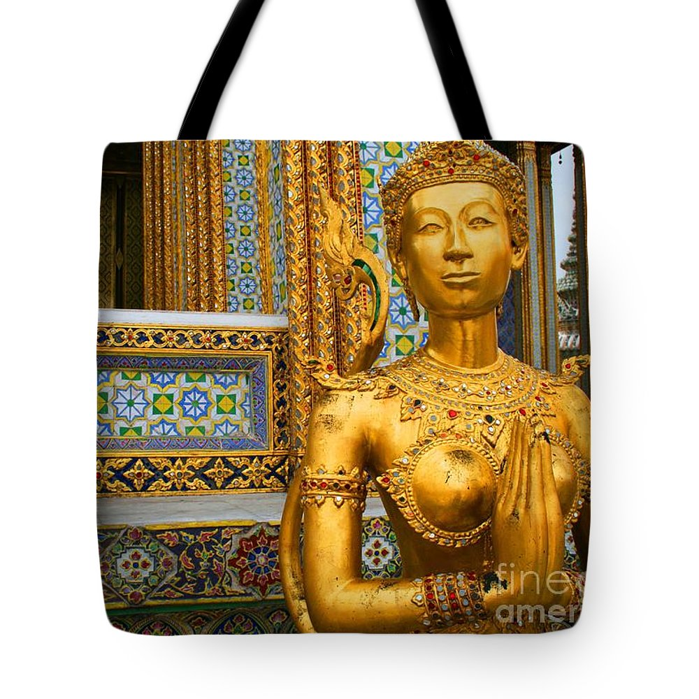 Bangkok Tote Bag featuring the photograph The Grand Palace by Roam Images