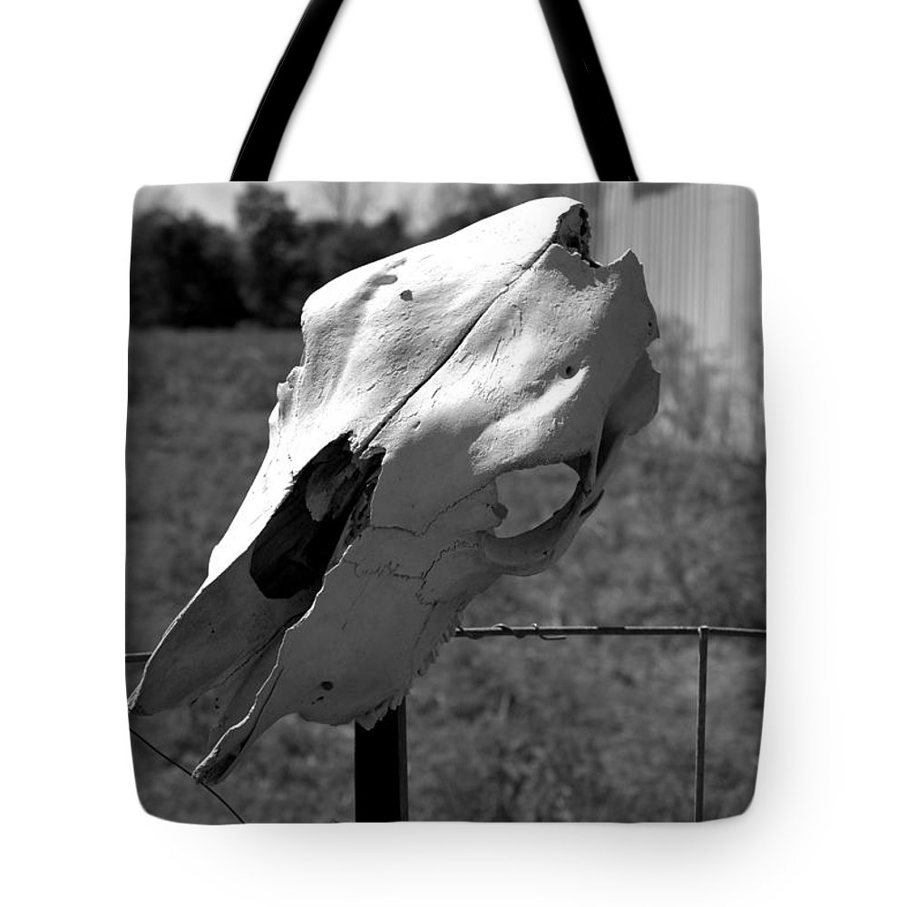 Farm Tote Bag featuring the photograph The Guardian  by Lee Alexander