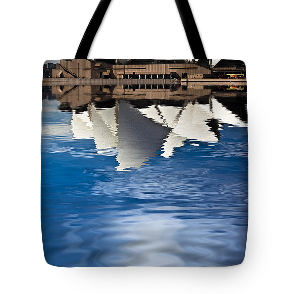 Sydney Opera House Sydney Harbour Tote Bag featuring the photograph The Iconic Sydney Opera House by Sheila Smart Fine Art Photography