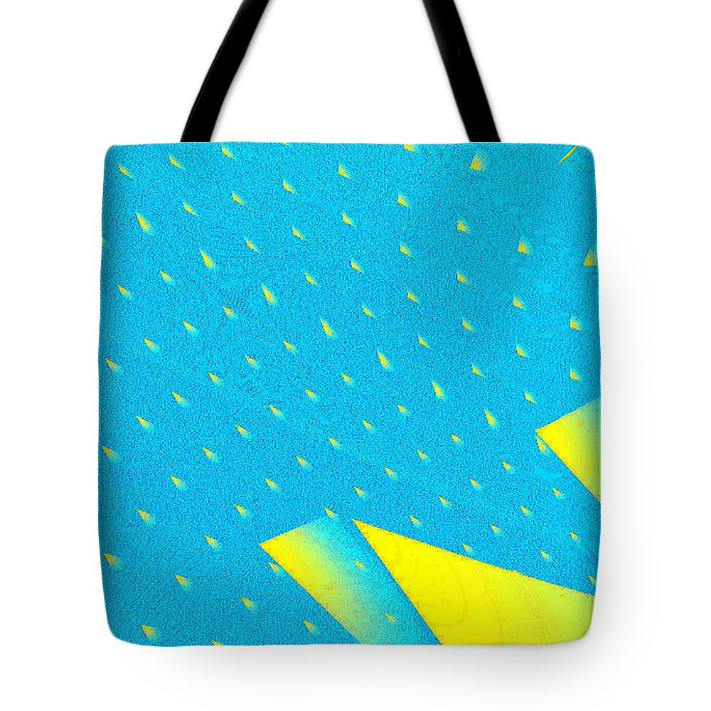 Clay Tote Bag featuring the digital art The Illusion by Clayton Bruster