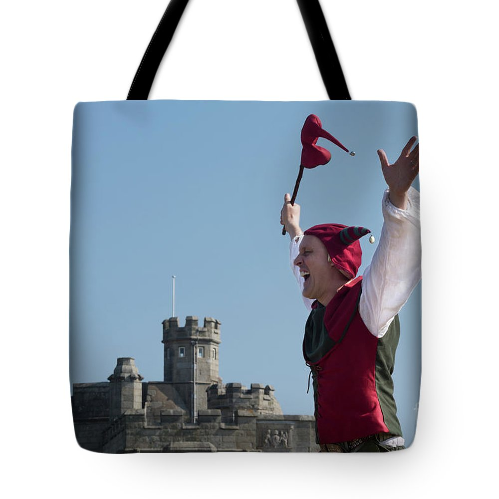 Court Jester Tote Bag featuring the photograph The Jester by Terri Waters