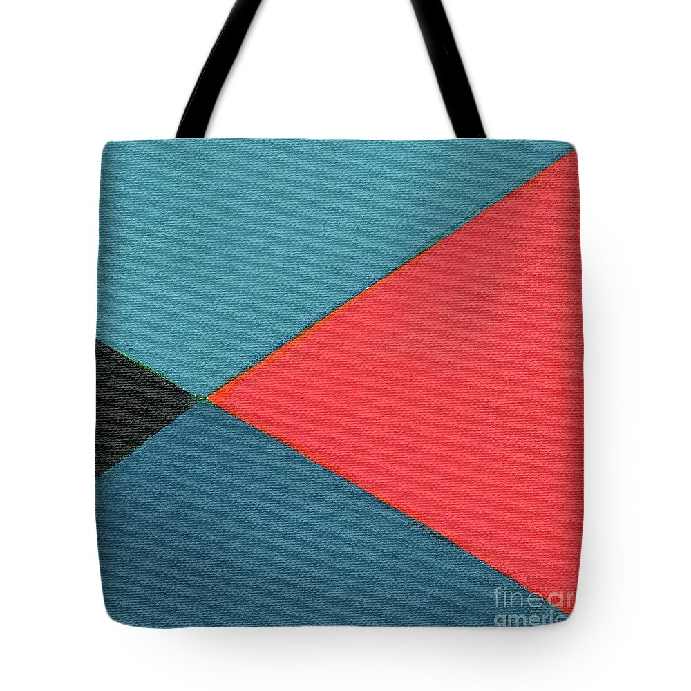The Joy Of Design Xlvii Part 2 By Helena Tiainen Tote Bag featuring the mixed media The Joy Of Design X L V I I Part 2 by Helena Tiainen