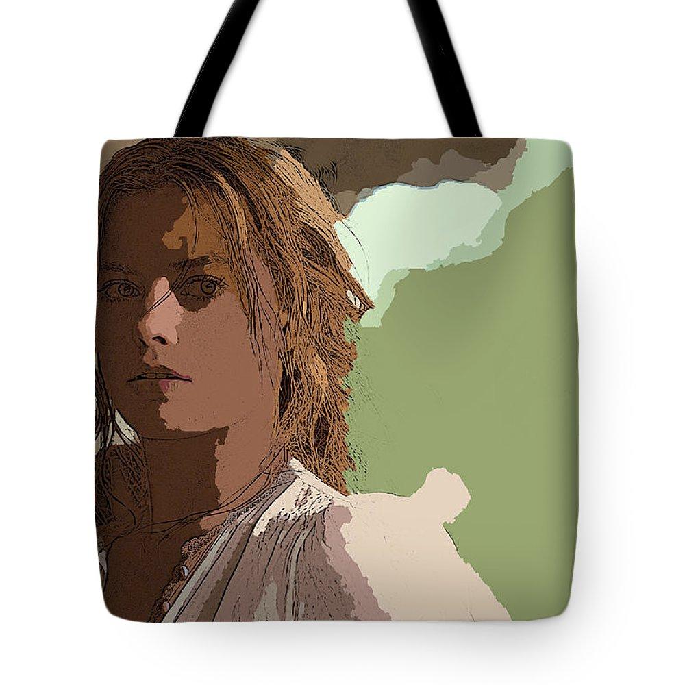 The Legend Of Tarzan Tote Bag featuring the digital art The Legend Of Tarzan by Lora Battle