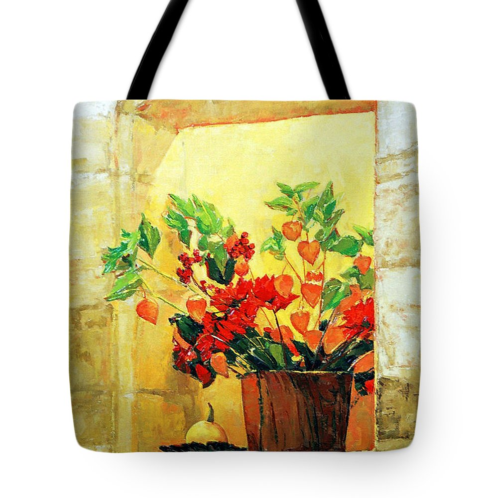 Still Life Tote Bag featuring the painting The Light by Iliyan Bozhanov