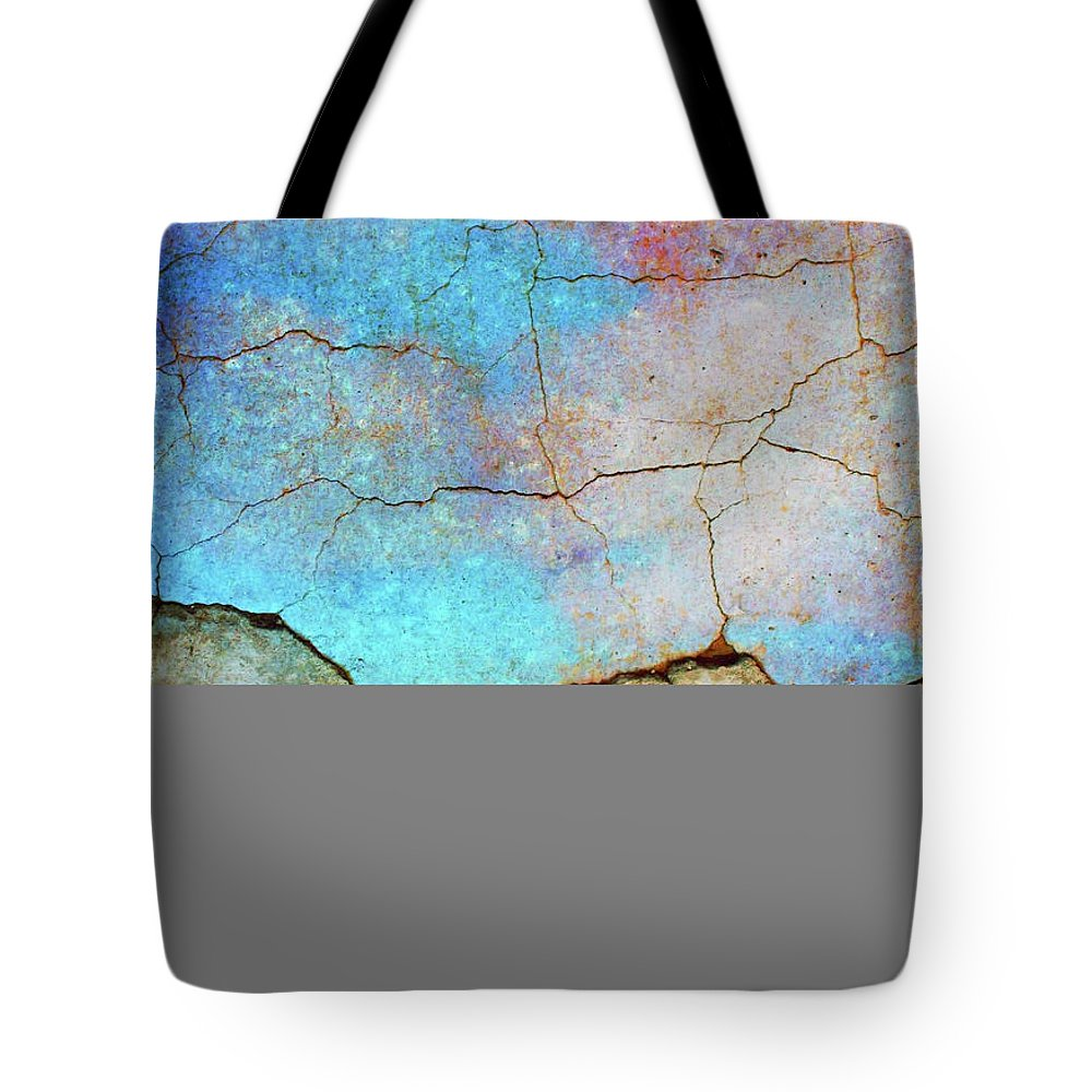 Abstract Tote Bag featuring the photograph The Lightning Storm by Tara Turner