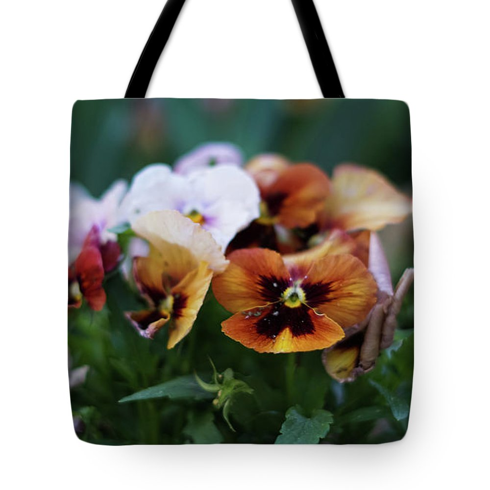 Grass Tote Bag featuring the photograph The Little One's by Mecoes Florance