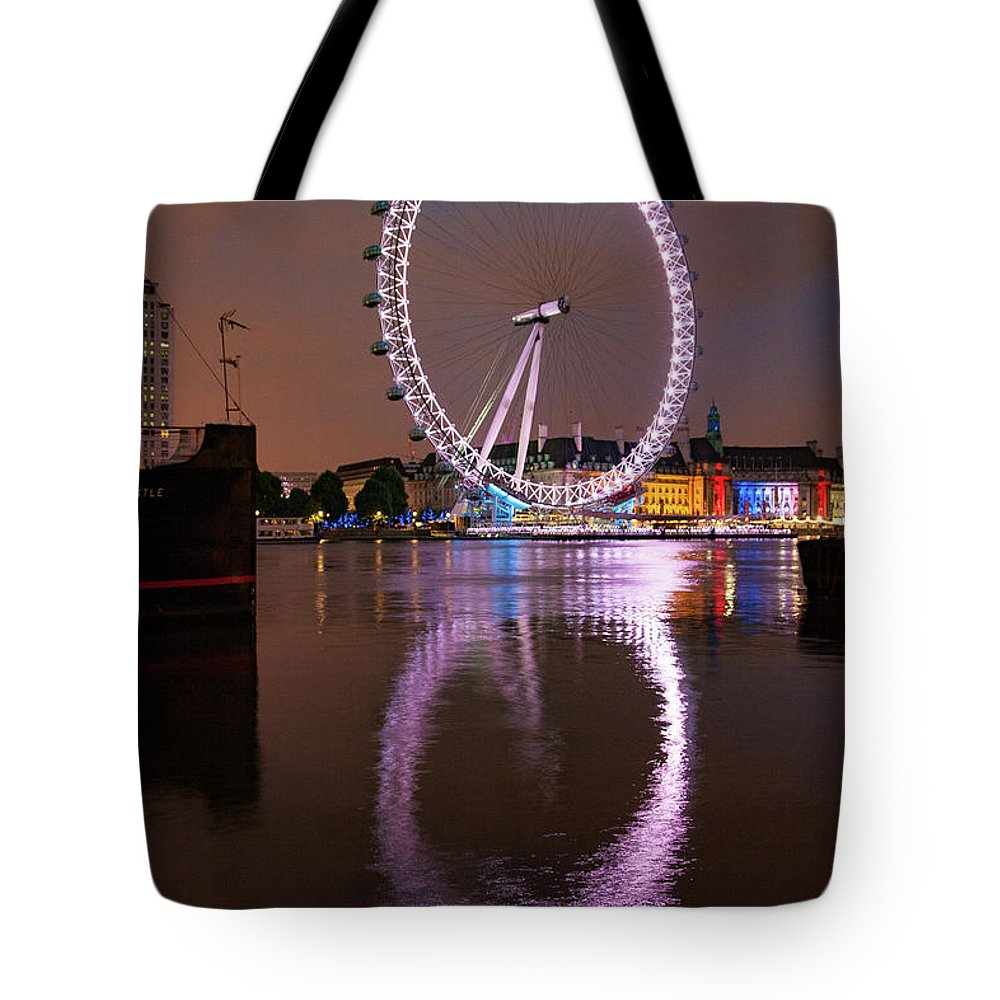 London Eye Tote Bags