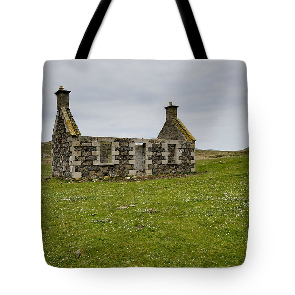 Lost Village Tote Bag featuring the photograph The Lost Village by Smart Aviation