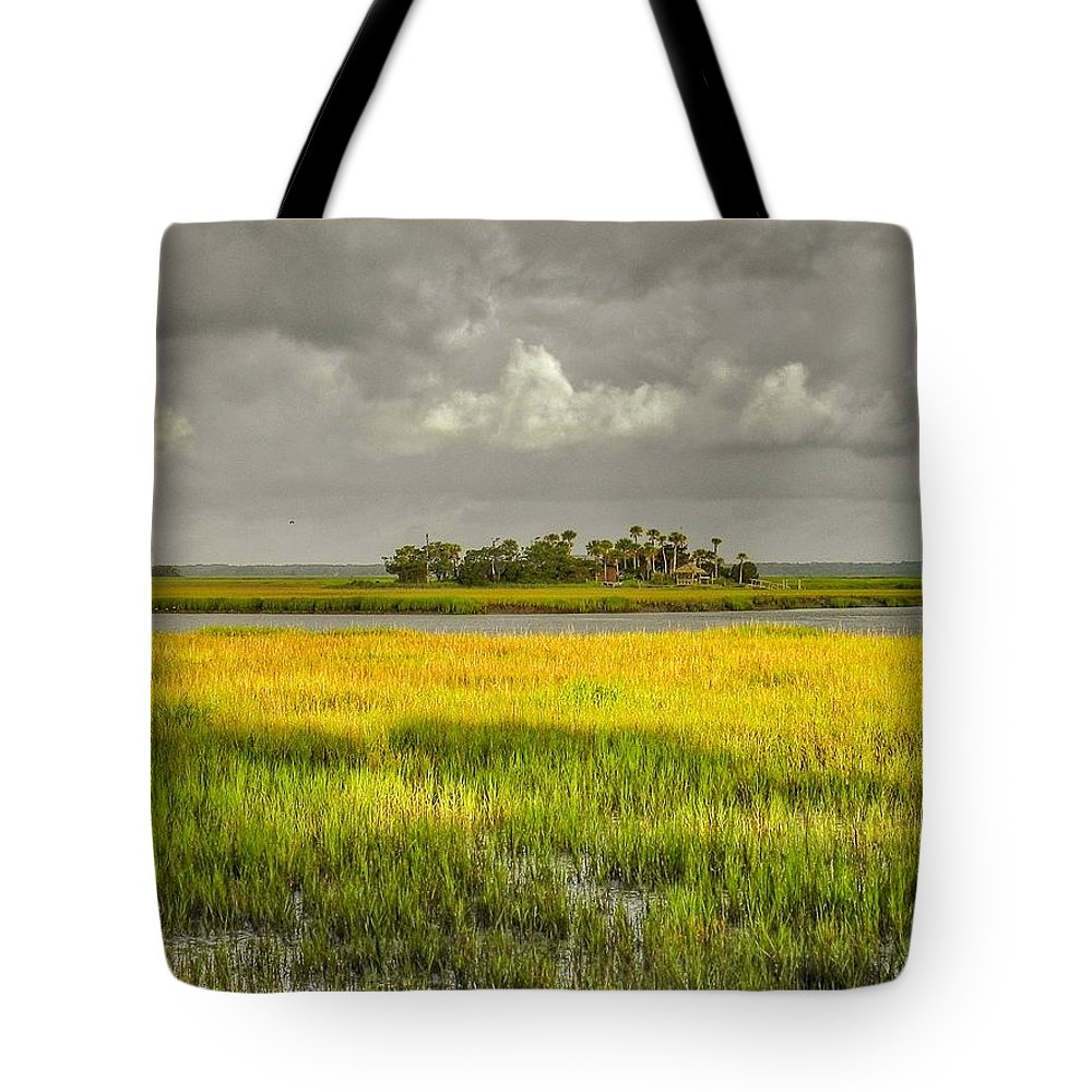 Marsh Tote Bag featuring the photograph The Lovely Low Country by Patricia Greer