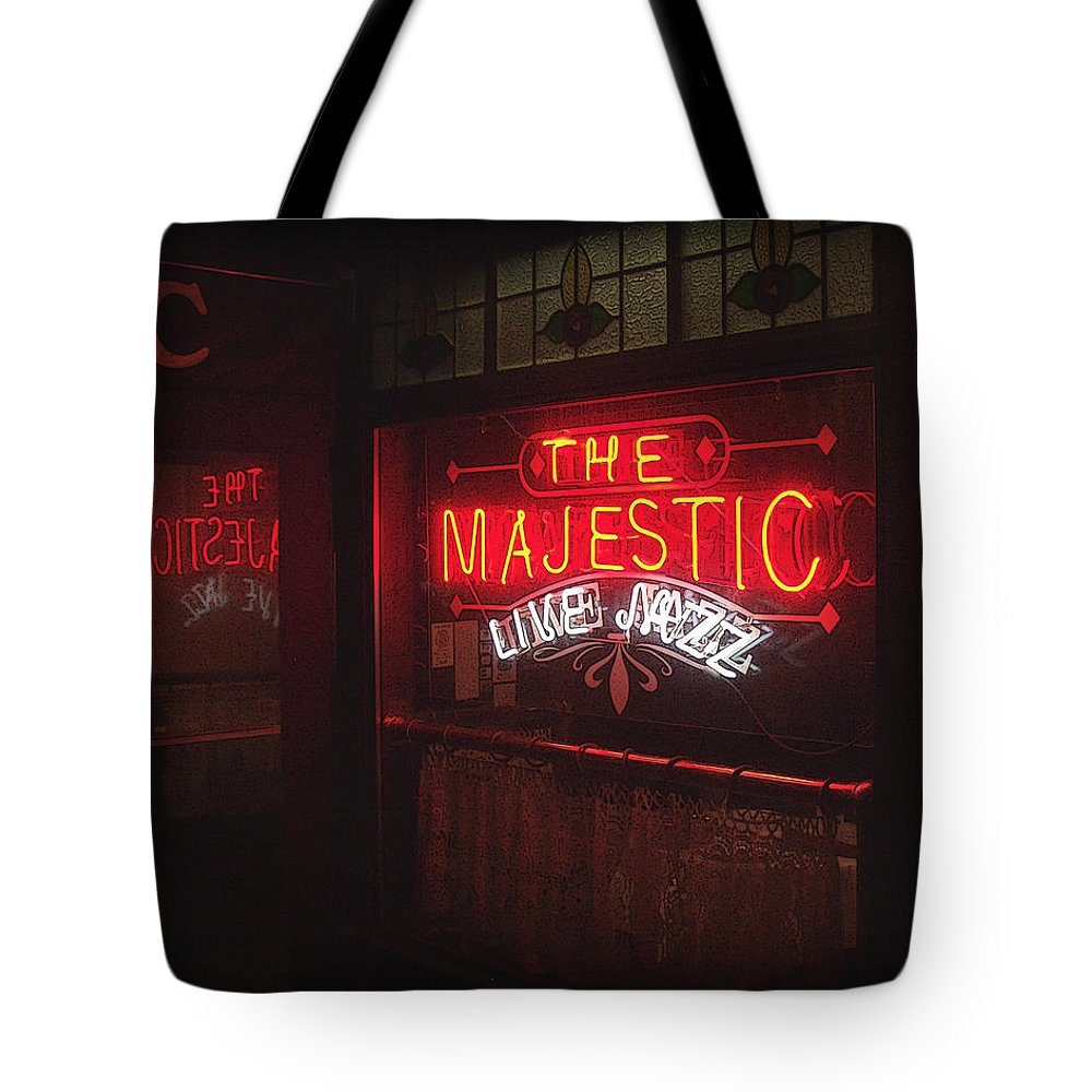 Majestic Tote Bag featuring the photograph The Majestic by Tim Nyberg