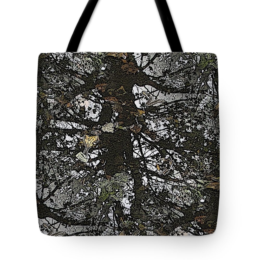 Tote Bag featuring the digital art The Marsh by Tim Allen