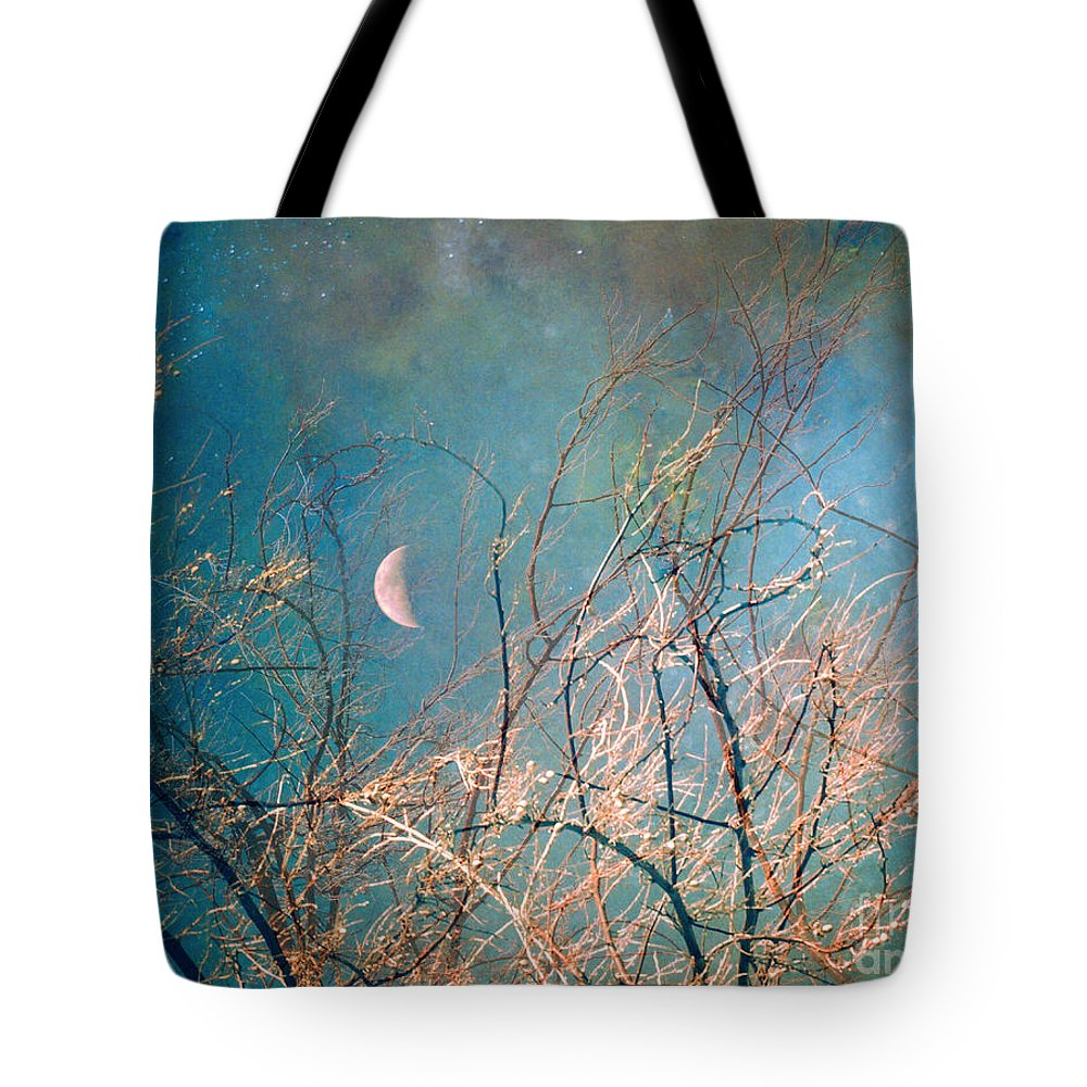 Moon Tote Bag featuring the photograph The Messy House Of The Moon by Tara Turner