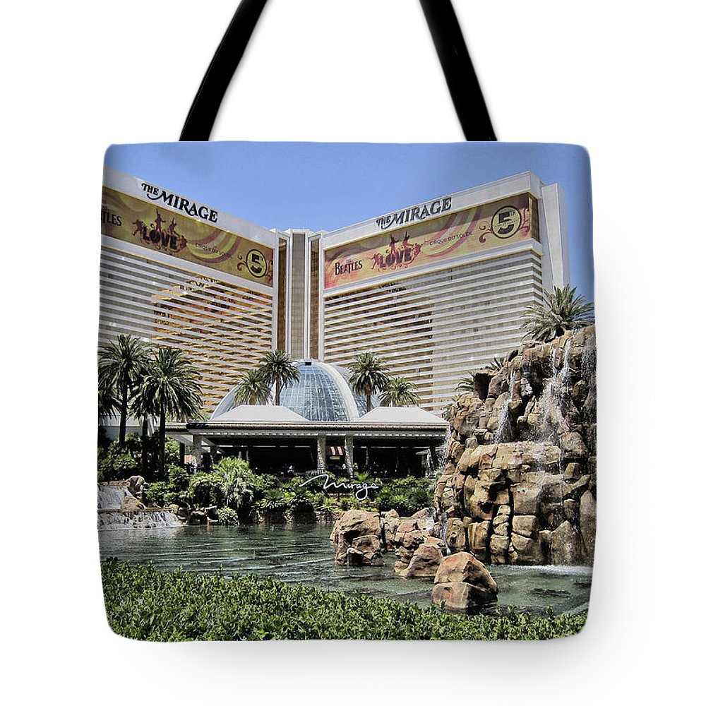 Tote Bag featuring the photograph The Mirage by Kathleen Sartoris