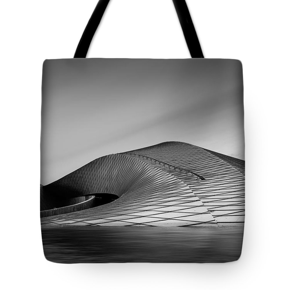 Copenhagen Tote Bag featuring the photograph The Mother Ship by Catalin Tibuleac