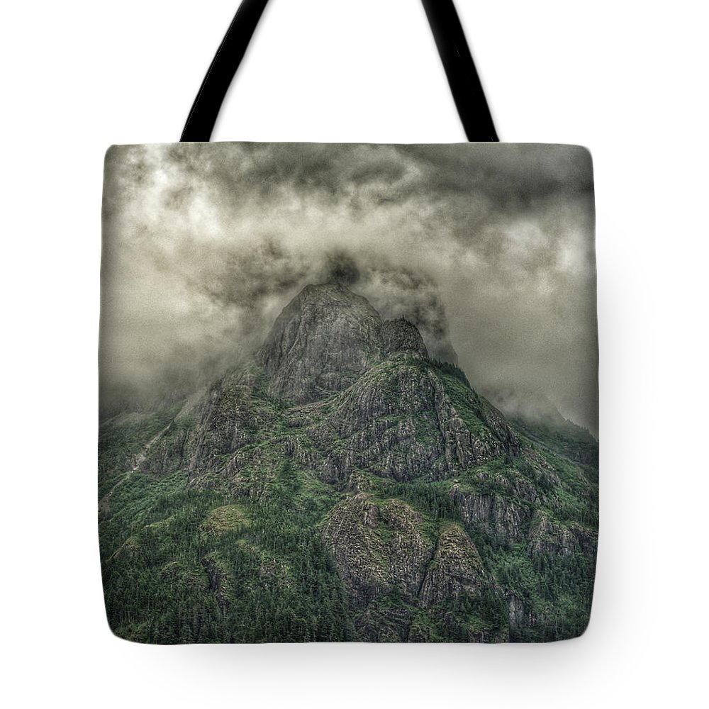 Tote Bag featuring the photograph The Mountains Of Alaska by Grant Miller