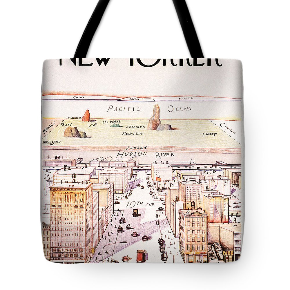 Magazine Cover Mixed Media Tote Bags