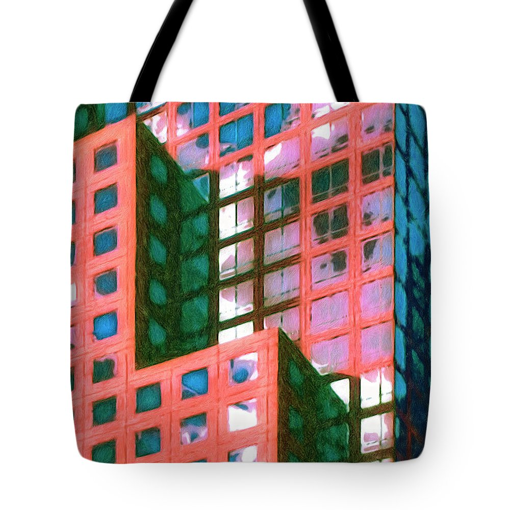 The Next Morning Tote Bag featuring the painting The Next Morning by Dominic Piperata