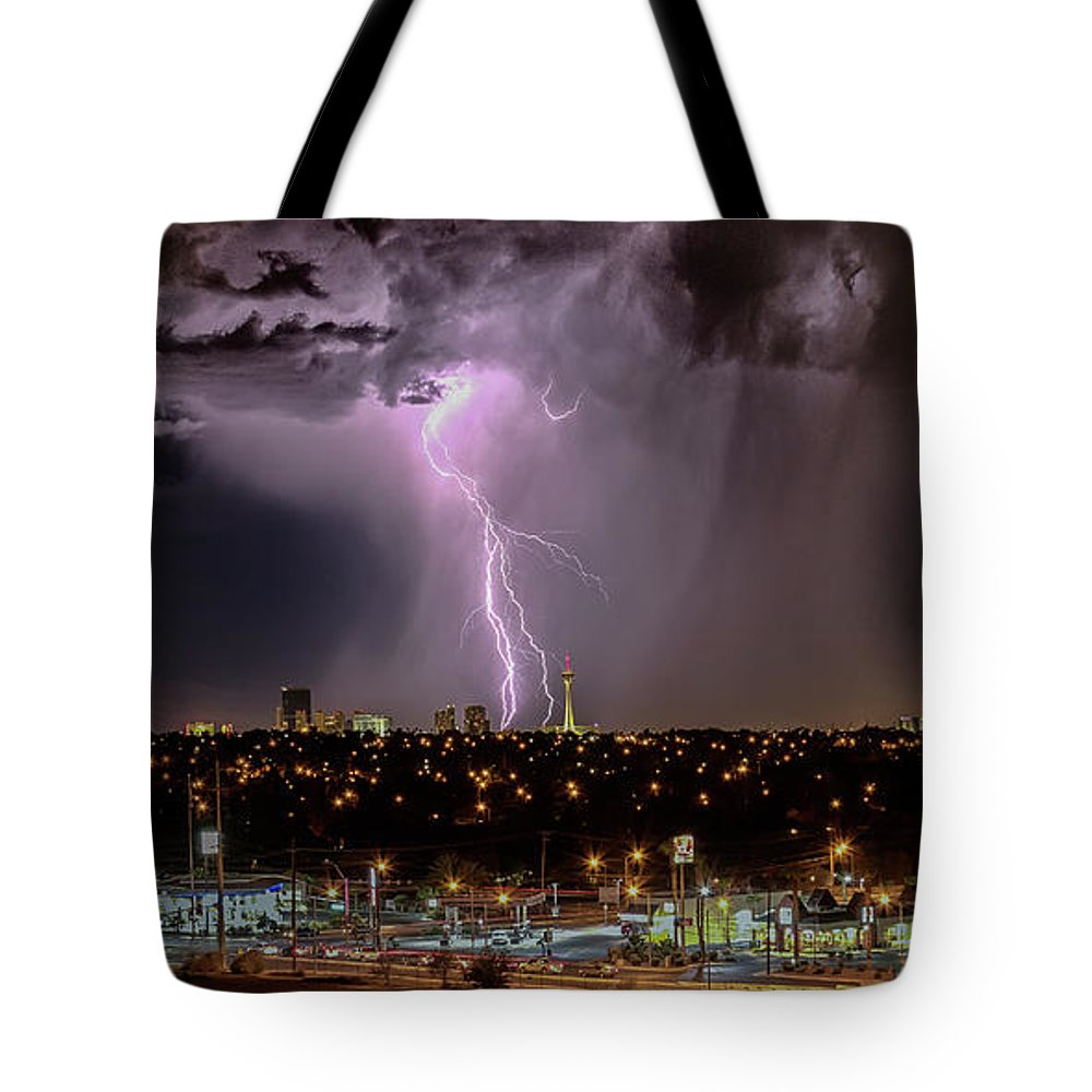 Tote Bag featuring the photograph The North American Monsoon by Michael Rogers