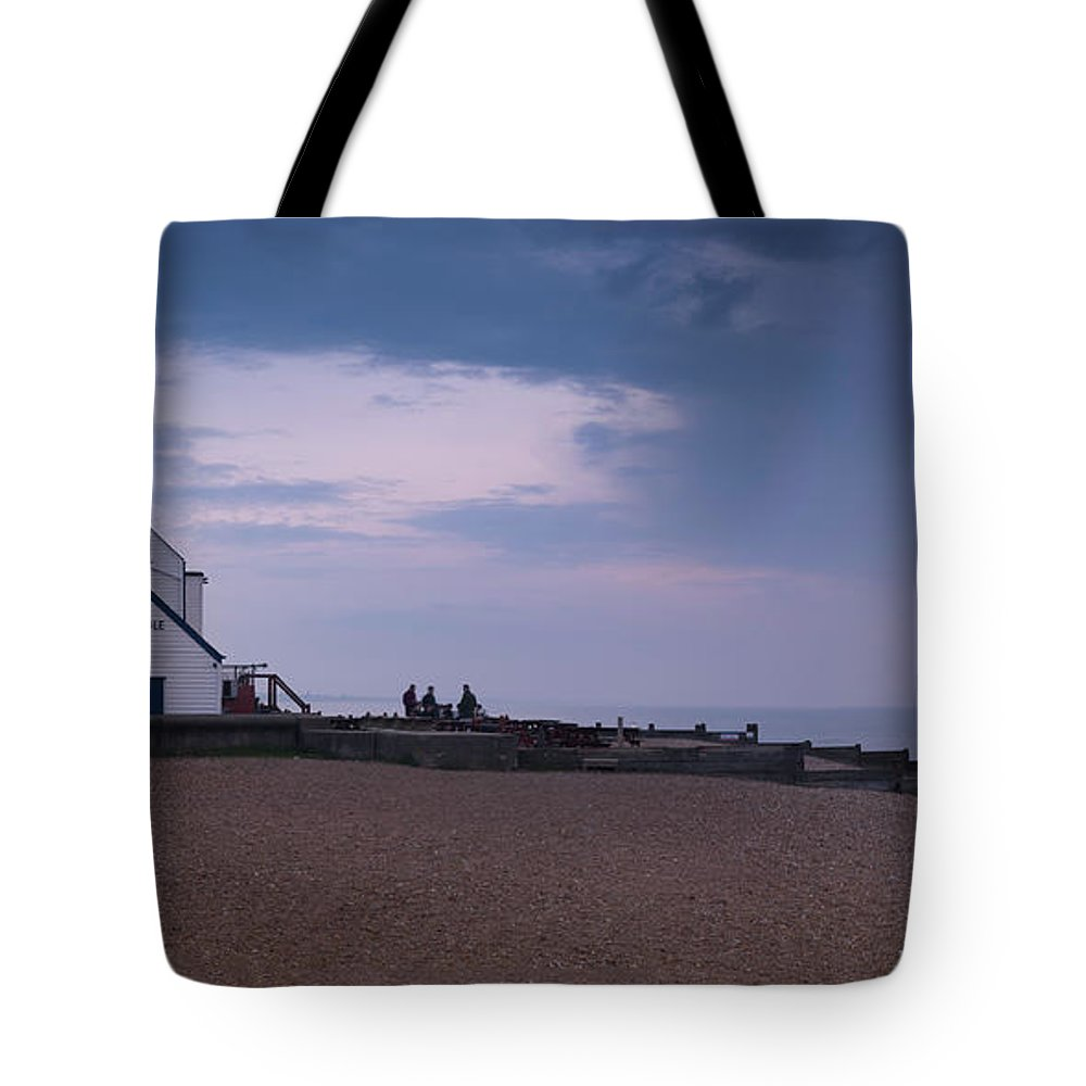 The Old Neptune Tote Bag featuring the photograph The Old Neptune Whitstable by Ian Hufton