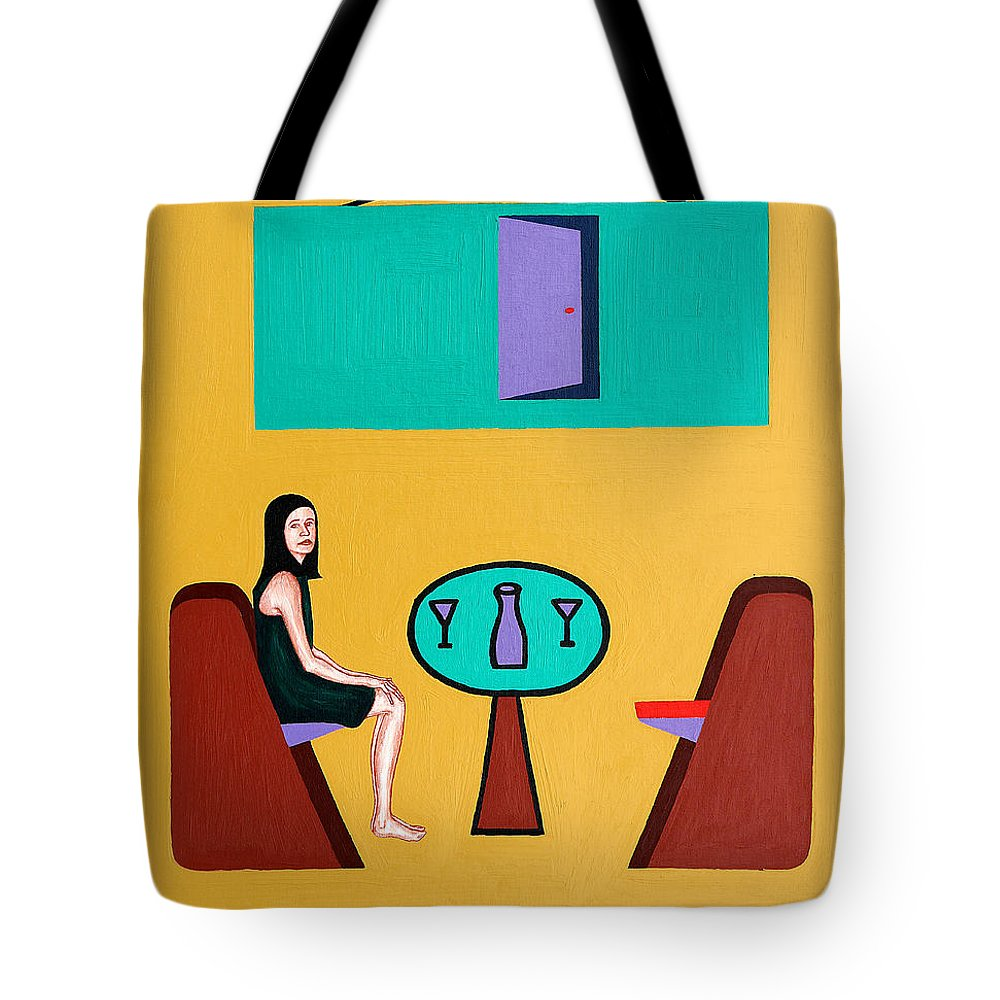 Love Tote Bag featuring the painting The Open Door by Patrick J Murphy