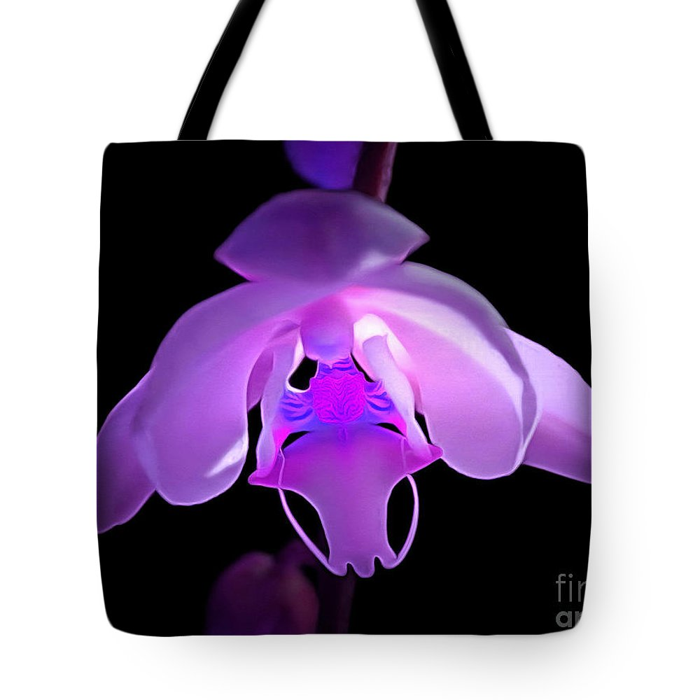 Orchid Tote Bag featuring the photograph The Orchid Magic by Krissy Katsimbras