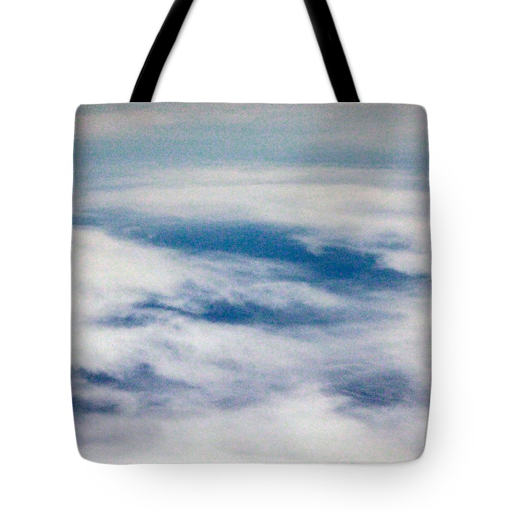 Heaven Tote Bag featuring the photograph The Other Heaven by Munir Alawi