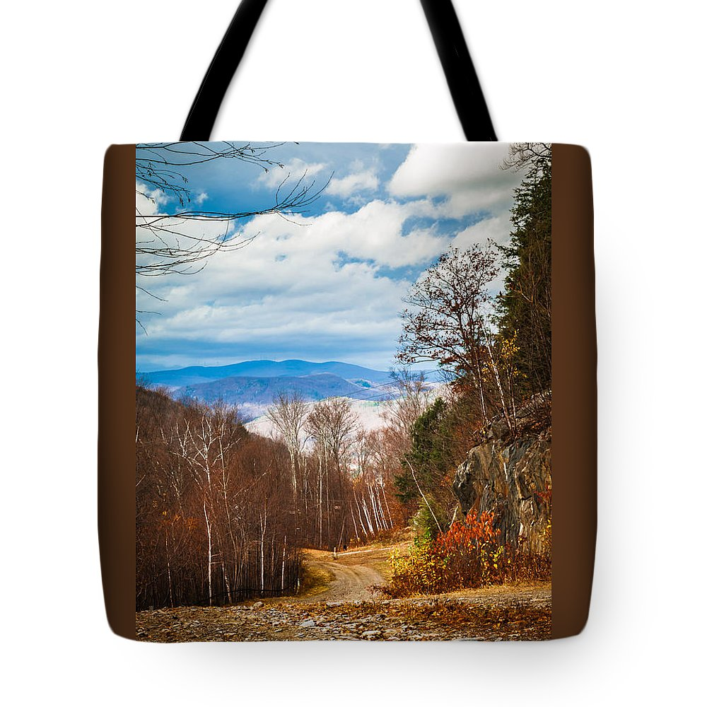 Trail Tote Bag featuring the photograph The Outback Trail by Heather Hubbard